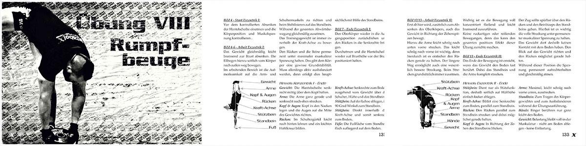 MGF-Training Vorschau Buch einbeinige Rumpfbeuge