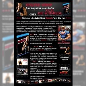 Patreon Channel OneWayNoLimit - Steroide, Stimulanzien und Gesundheit