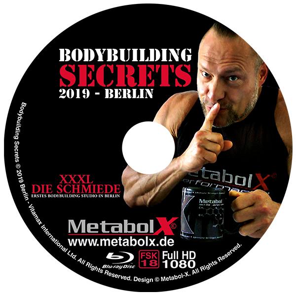 Bodybuilding Secrets Blu-ray - Cover-Blu ray