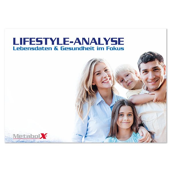 Broschüre Lifestyle-Analyse - Lebensdaten & Gesundheit im Fokus