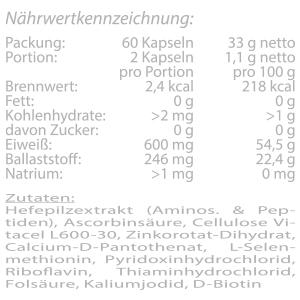HMF-X-Nutricosmetic Inhaltsstoffe