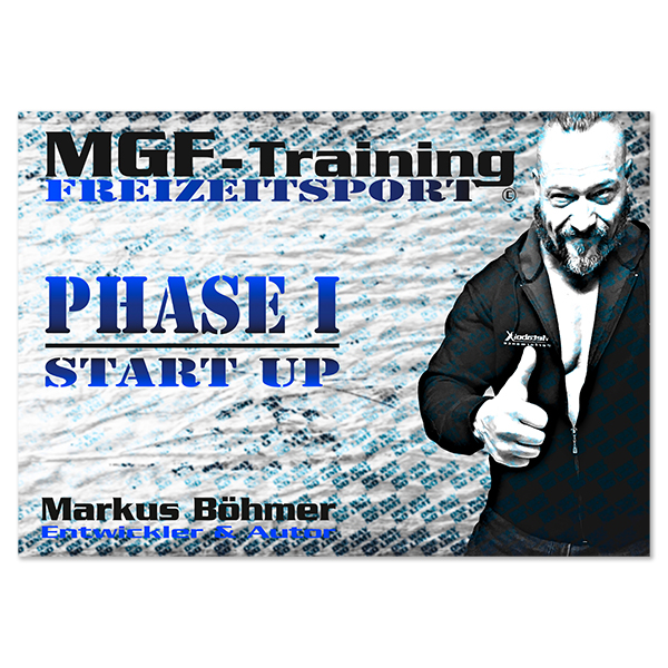 MGF-Training Phase 1 Start Up - Cover Vorderseite
